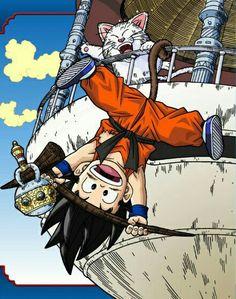 Dragon ball kid Goku