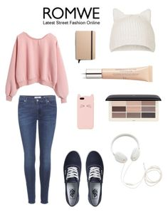 """""""Untitled #102"""" by salome-chekurishvili ❤ liked on Polyvore featuring мода, 7 For All Mankind, Vans, Kate Spade, H&M, Molami, Topshop и Shinola"""