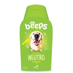 Shampoo Pet Society Beeps Neutro Cães e Gatos - 500ml. #shampooparacachorro #shampooparagato #cachorro #gato #beeps #shampoobeeps #filhode4patas #maedepet #paidepet #catlovers #petshop #petmeupet