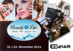 """Drukke tijden voor Es4hair. Leuke beursdag gisteren bij """"Beauty Live"""" in Duitsland. Wellness-nails-cosmetics and hair. Weer helemaal bij met de nieuwste producten. #kapper #nijverdal #beurs #hair"""