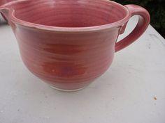 Pottery Batter Bowl or gravy boat  in by NancyBloklandPottery, $35.00