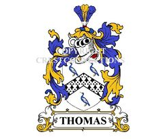 Your COAT OF ARMS embroidered onto one of our great quality shirts. A range of sizes and colours for Gents, Ladies and Children. Check out our Website www.crestconnections.com  #Thomas #welsh #welshfamilycrest #welshcoatofarms #familycrest #coatofarms