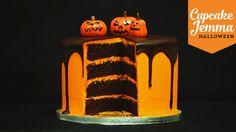 Halloween Special - Chocolate Orange Layer Cake | Cupcake Jemma