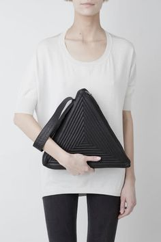 Gareth Pugh triangle bag