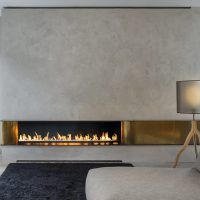 Modern and sleek contemporary fireplaces - contemporary fireplaces . Modern and sleek contemporary fireplaces – contemporary fireplace designs with TVs above the log Contemporary Fireplace Designs, Contemporary Stairs, Contemporary Interior, Contemporary Building, Contemporary Apartment, Contemporary Kitchens, Contemporary Wallpaper, Contemporary Office, Contemporary Chandelier