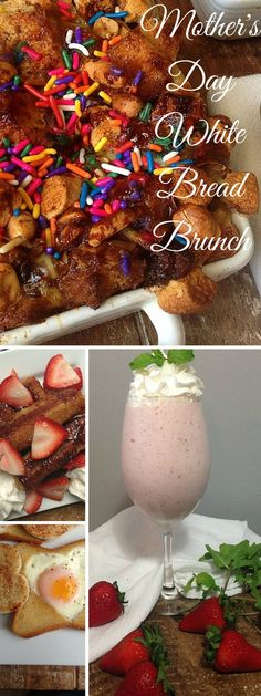 Mother's Day Brunch - everything you ever wanted to make with leftover bread.
