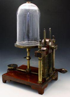 G Cartwright double barrel vacuum pump