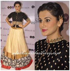 "A Fashionistas Diary on Twitter: ""Taapsee Pannu (@taapsee) in @SanchitaJulka http://t.co/RznPmO3b29"""