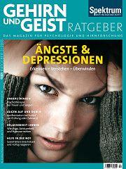 Heftcover Gehirn&Geist Ratgeber 2/2015<br /> Ängste und Depressionen