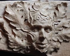 Oak leaf Green Man