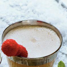 Festive Milk Punch Recipes: Chocolate-Raspberry Milk Punch