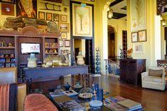 Rub-Al Khali, UAE: Anantara Qasr Al Sarab Desert Resort - Library | by wanderlust  traveler