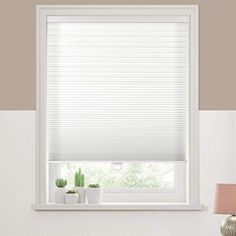 "Keego Cordless Cellular Shades, Custom Cut to Size Free-Stop Light Filtering Window Blind, White, 44"" W x 72"" H, Single Cell Honeycomb Blinds Honeycomb Blinds, Honeycomb Shades, Blinds Online, Hanging Curtain Rods, Bamboo Light, Cellular Shades, Atlantic Furniture, Faux Wood Blinds, Country Curtains"