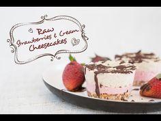 Mini Strawberries & Cream Raw 'Cheesecakes'   | FOOD MATTERS®