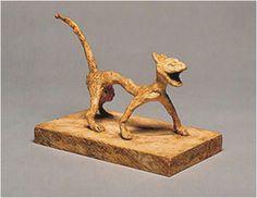 Chat (Cat) | bronze statue,1930 | Alexander Calder