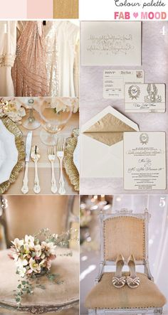 vintage wedding,blush gold peach vintage wedding ideas,gold blush peach wedding colour palette