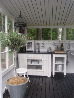 Outdoor Spaces, Outdoor Living, Outdoor Decor, Outdoor Kitchens, Patio Pergola, Backyard, Lean To, Bbq Area, Nordic Interior
