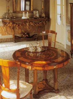 Antique Interior, Marquetry, Cabinet Makers, Table Games, Louis Xvi, Dining Table, Tea, Interior Design, Antiques