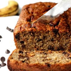 One Bowl, Vegan Banana Bread! So tasty, you'd never guess it's missing all the oil, butter, and sugar of tradition banana bread.