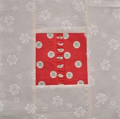 Block 6: Gathered strip – Textured quilt sampler tutorial   Sewn Up