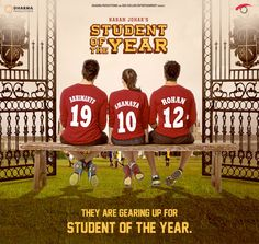 Trailer: Student of the Year. Your Thoughts? Bollywood Gossip, Bollywood Stars, Bollywood News, Bollywood Quotes, Bollywood Outfits, Alia And Varun, Student Of The Year, Trending Music, Karan Johar