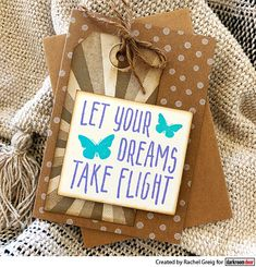 Card by Rachel Greig using Darkroom Door Take Flight Small Stamp and Sunshine Background Stamp Great Friends, Hand Stamped, Gift Wrapping, Doors, Create, Birthday, Projects, Christmas, Cards