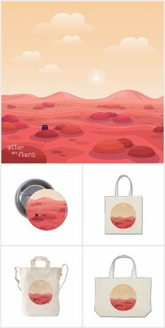"""Life on Mars"" Collection by Otter on Mars"