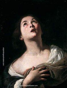 Bernardo Cavallino - Saint Agatha.