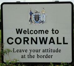 WELCOME TO CORNWALL | 'Leave your attitude at the border'     ✫ღ⊰n