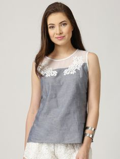 Look elegant and create a new style statement with this top from Marie Claire