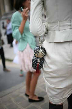 Doll #chanel handbag