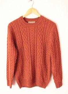 Kup mój przedmiot na #vintedpl http://www.vinted.pl/damska-odziez/bluzy-i-swetry-inne/12605282-rdzawy-sweter-s-jak-hm-bershka-zara