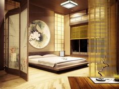 Japanese Zen Interior Concept