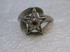 10kt Gold Order of the Eastern Star/Masonic Ring by stampshopgirl