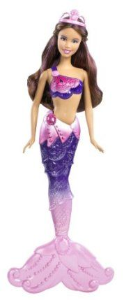 Barbie In a Mermaid Tale 2 Mermaid Australia Doll by Mattel. $17.80. Based on the Barbie's newest animated movie, Barbie in A Mermaid Tale 2. Girls can have fun acting out scenes from the movie. Color changing features with cold water activation. Collect all of the Mermaid Tale 2 Mermaids. Beautifully detailed bodice and mermaid tail. From the Manufacturer                Barbie in a Mermaid Tale 2 Mermaid Collection: In the movie Barbie in A Mermaid Tale 2, these ma...
