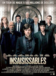 Insaisissables est un film de Louis Leterrier avec Jesse Eisenberg, Mark Ruffalo. Synopsis : « Les Quatre Cavaliers », un groupe de brillants magiciens et illusionnistes, viennent de donner deux sp...