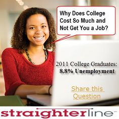 15 best the cost of college images on pinterest colleges collage college is only 99 a month at straighterline making your risk much fandeluxe Images