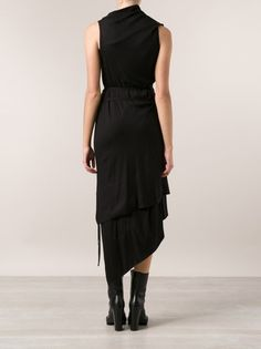 ANN DEMEULEMEESTER - Asymmetric Dress - 142-2200-150-099 - H. Lorenzo