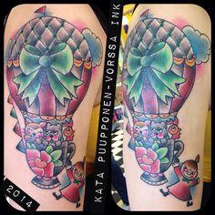https://www.facebook.com/VorssaInk, http://tattoosbykata.blogspot.fi, #tattoo #tatuointi #katapuupponen #vorssaink #forssa #finland #traditionaltattoo #suomi #oldschool #pinup #hotairballoon
