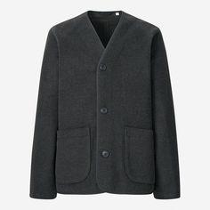 MEN | Uniqlo U Fall/Winter 2021 COLLECTION | UNIQLO US Christophe Lemaire, Modern Wardrobe, Uniqlo, Winter Collection, Luxury Branding, Fall Winter, Blazer, Sweaters, Jackets