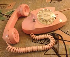 Bell Princess phone from A New Vintage blog