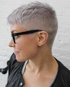 11 shades of GREY! Welk kort model kies jij in deze geweldig mooie kleur? - Kapsels voor haar