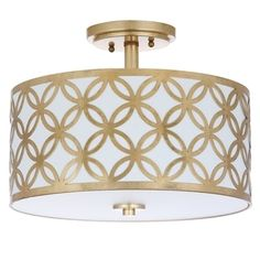 Shop for Safavieh Lighting Cecily 3 Light 15-Inch Flush Mount. Get free delivery at Overstock.com - Your Online Home Decor Shop! Get 5% in rewards with Club O!