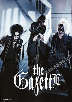 Ruki, Aoi and Reita - the GazettE // GiGS // No. 420 // Part 1