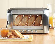 Quoi de mieux qu'un grille pain aux parois transparentes ?