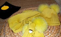 coordinato sciarpa e berretto catya made in italy - www.momeme.it