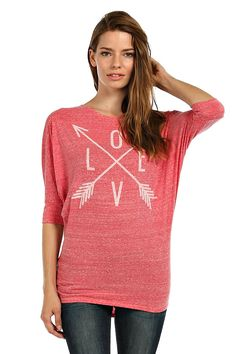 Pink Love and Arrow Tunic – Laney Lu's Boutique