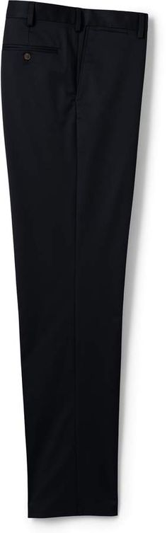 Try our Men's Traditional Fit No Iron Supima Twill Dress Pants at Lands' End. Tall Pants, Mens Big And Tall, Lands End, Dress Pants, Iron, Traditional, Fitness, Skirts, Easy