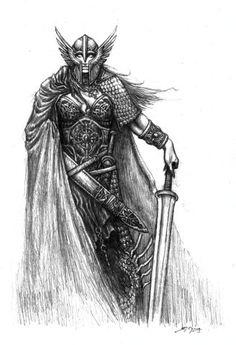 viking norse nordic tattoo karoling