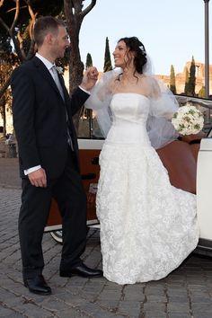 Porzia insieme al suo sposo! www.cinziaferri.com